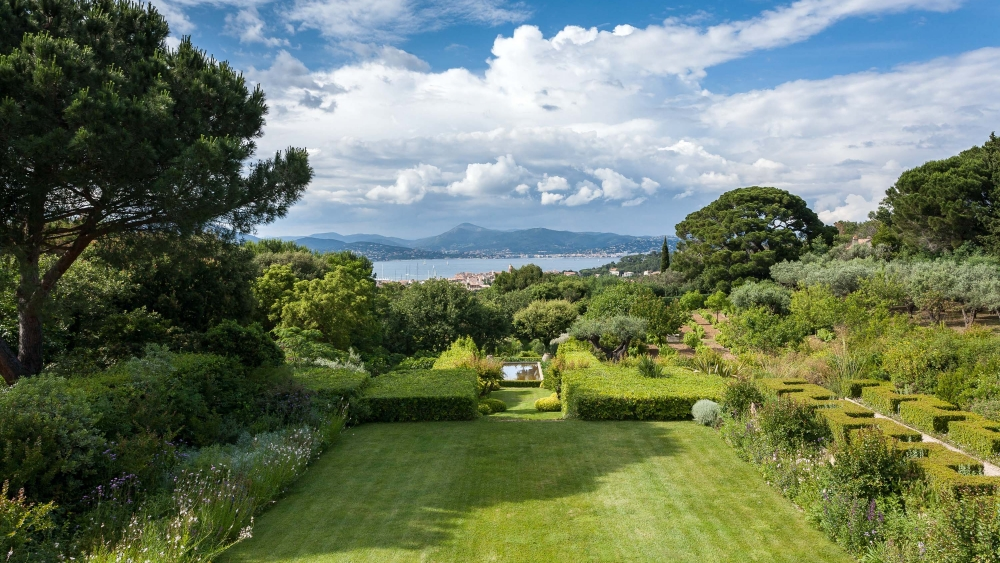 Garten in Saint Tropez